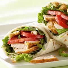 chicken wraps Meals for Kids
